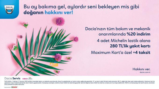 Dacia Yaz Kampanyası